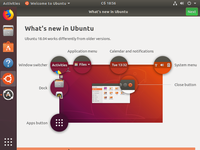Welcome to Ubuntu